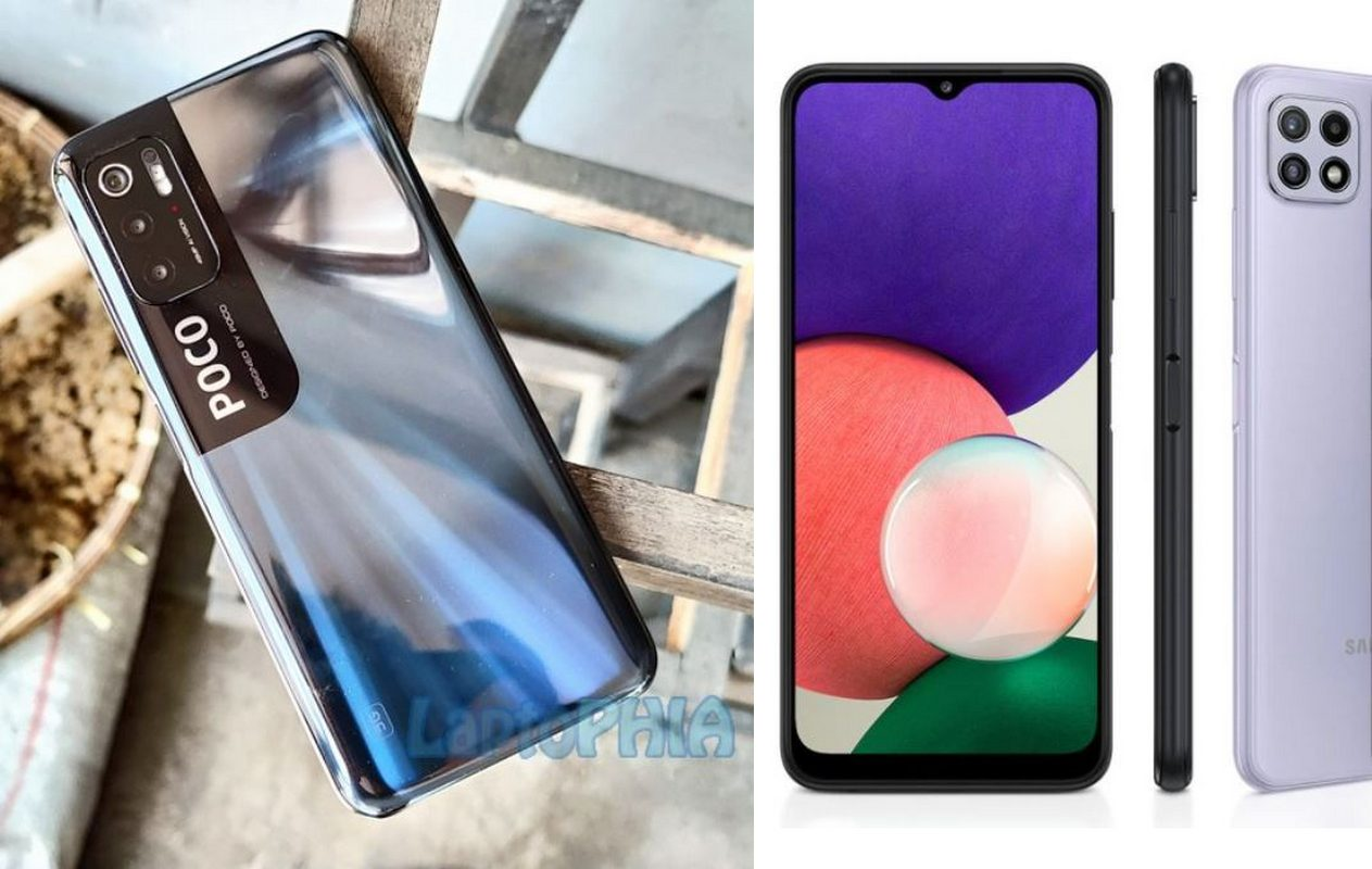Komparasi Poco M3 Pro 5G vs Samsung Galaxy A22 5G: Duel Smartphone 5G Termurah di Indonesia!