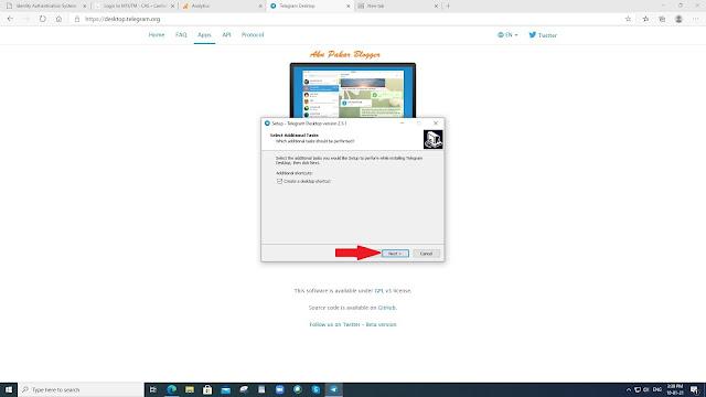 Cara Menggunakan Telegram di Penyemak Imbas (Browser) dan Desktop (PC)
