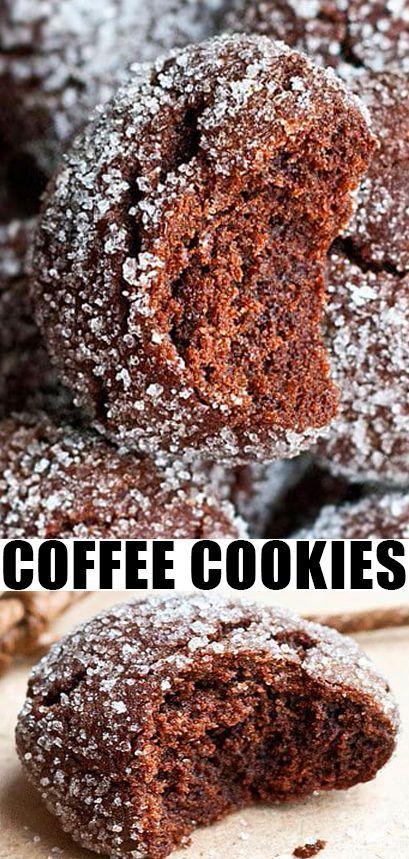 Best Mocha Crinkle Cookies