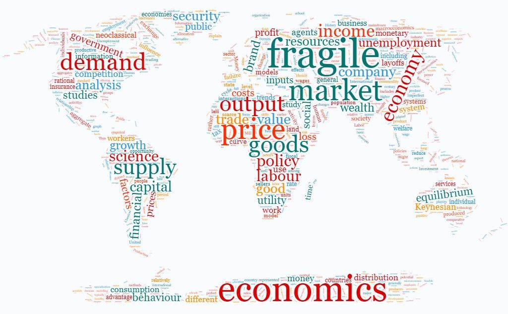 economics wordcloud by fragileeconomics