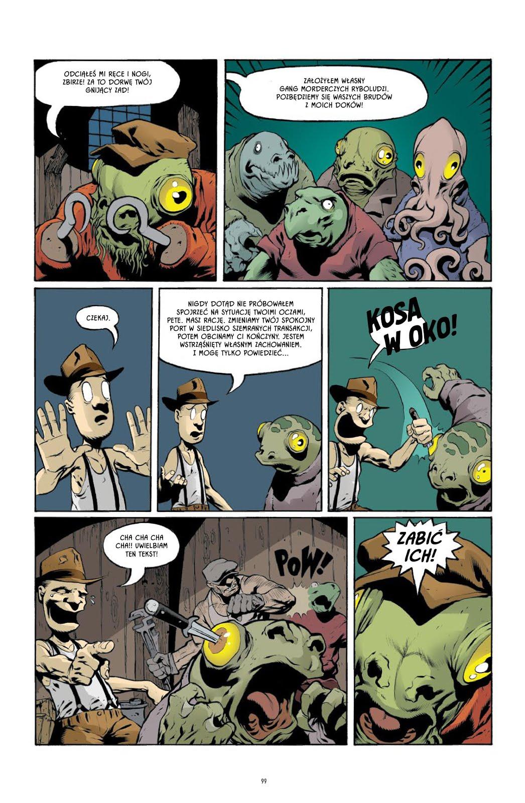 The Goon tom 1 przykładowa strona
