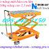 Xe nâng mặt bàn con lăn 350kg nâng cao 1.3 mét NICHI-LIFT giá siêu cạnh tranh call 0984423150 – Huyền
