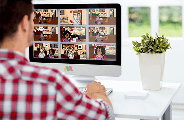 Pengertian Sinopsis dan Storyboard pada Pembuatan Simulasi Visual Tahap Praproduksi
