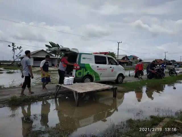 Kampung Gedong Jaya SEDEKAH BARENG NASI BUNGKUS (SEBAR NABUNG)