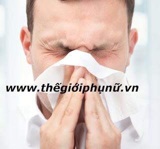 bệnh viêm xoang mũi nặng