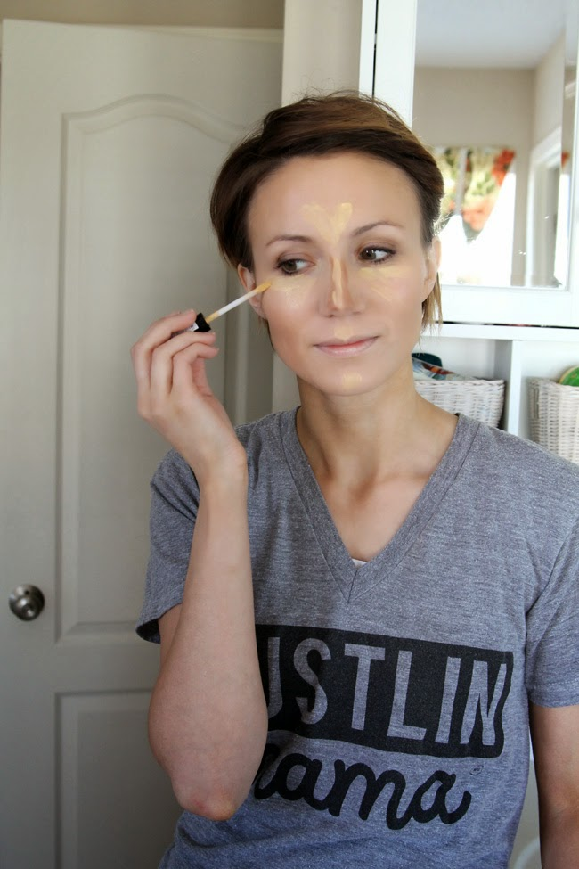 How to Highlight and Contour your face- easy photo tutorial