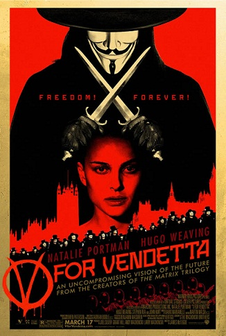 V for Vendetta Hacking Movie