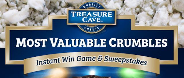 Treasure Cave Most Valuable Crumbles Instant Win Game and Sweepstakes Hot Picks