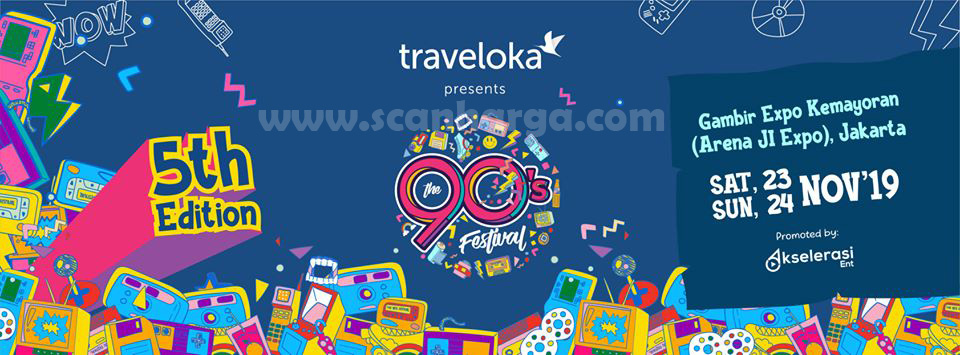 Ajang Nostagia 90's Festival 2019 Kemayoran