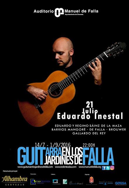 Eduardo Inestal en el Auditorio de Falla