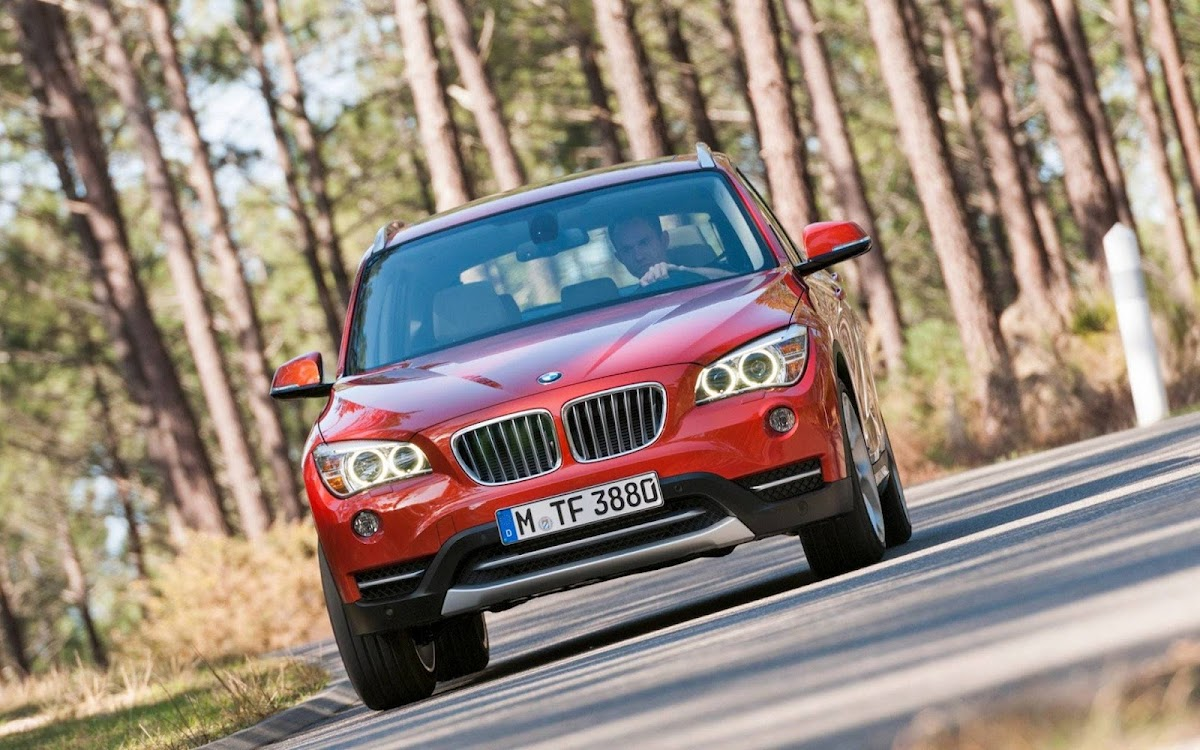 2013 BMW X1 Widescreen HD Wallpaper 7