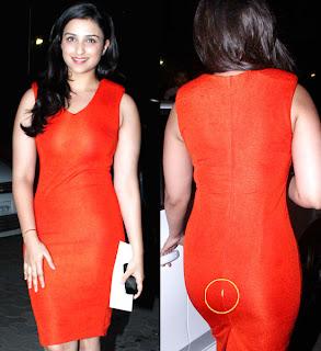 Parineeti Chopra Wardrobe Malfunction
