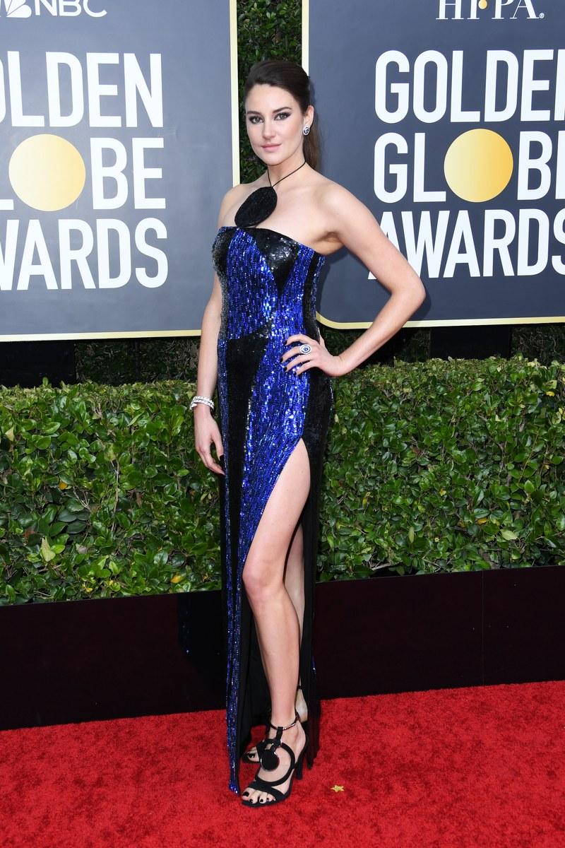 Shailene Woodley stuns in Balmain for Golden Globe Awards 2020
