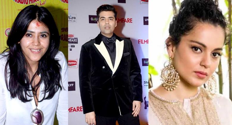 Kangana Ranaut, Karan Johar, Ekta Kapoor gets Padma Shri
