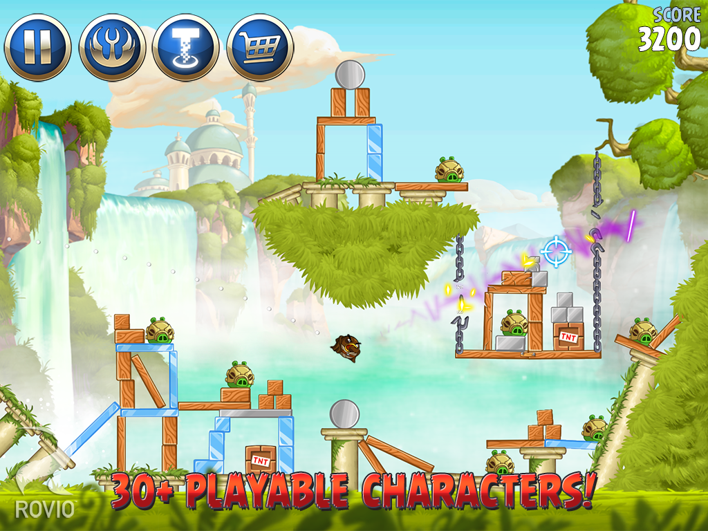 angry birds, angry birds star wars, game android, free games android