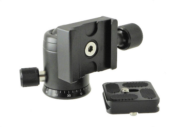 Demon DB-30 Mini Ball Head QR clamp and QR plate