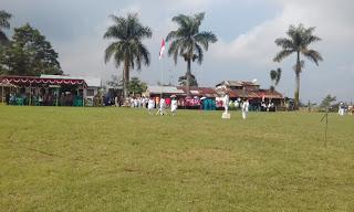 upacara HUT RI Kembaran Kalikajar Wonosobo