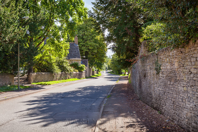 Country lane in the Oxfordshire Cotswolds in Eynsham by Martyn Ferry Photography