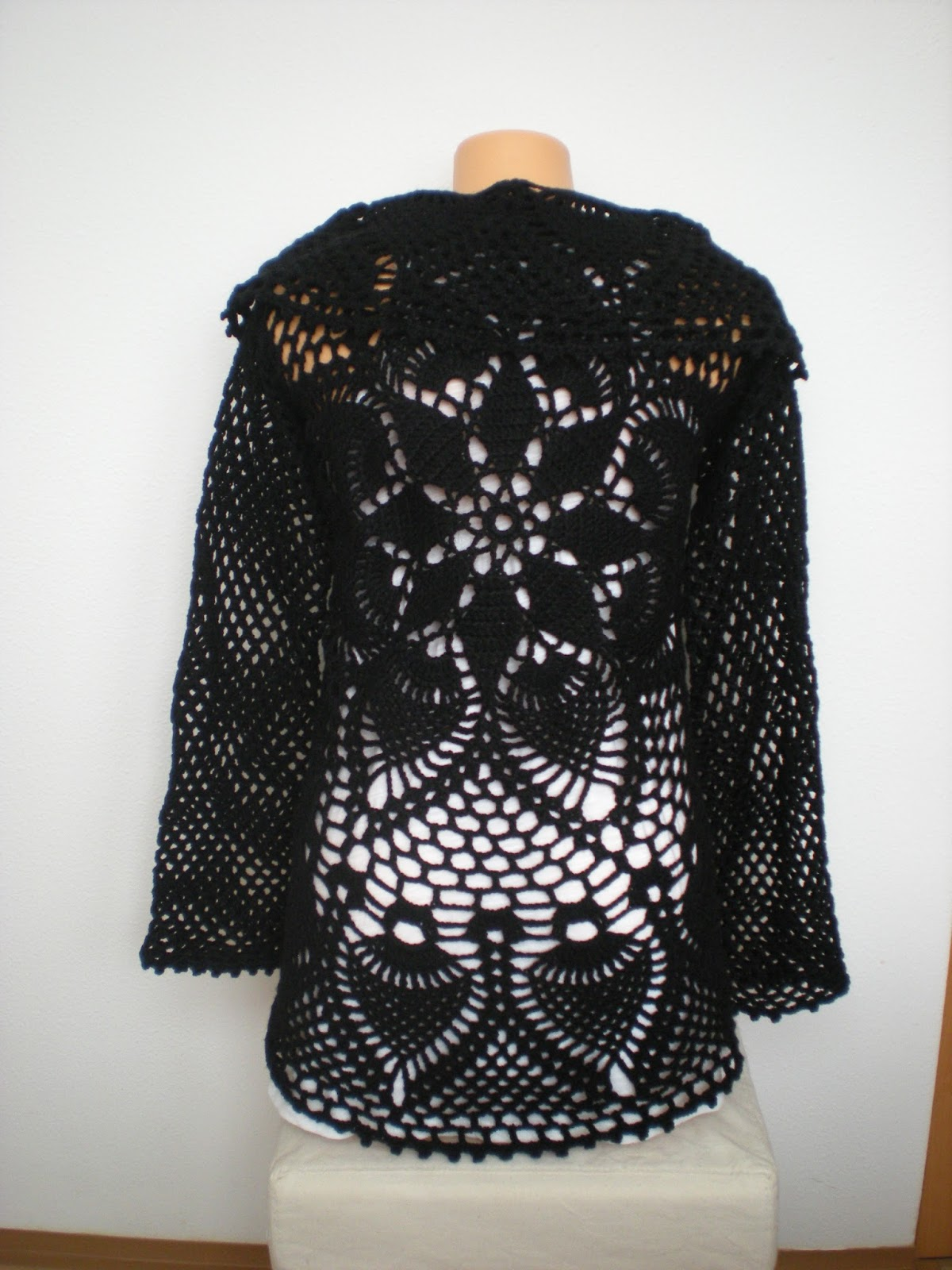Emmhouse circular pineapple cardiganvest full written pattern bankloansurffo Image collections