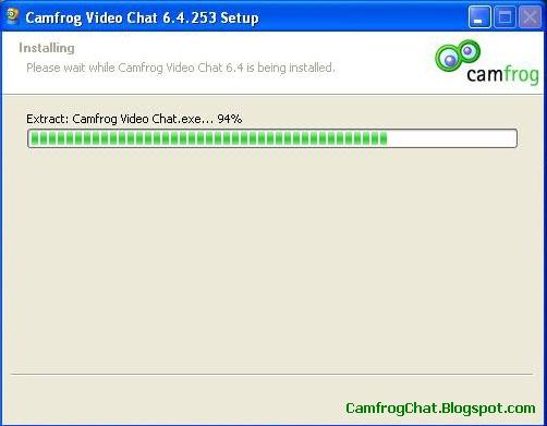 Proses Installasi Camfrog 6.4