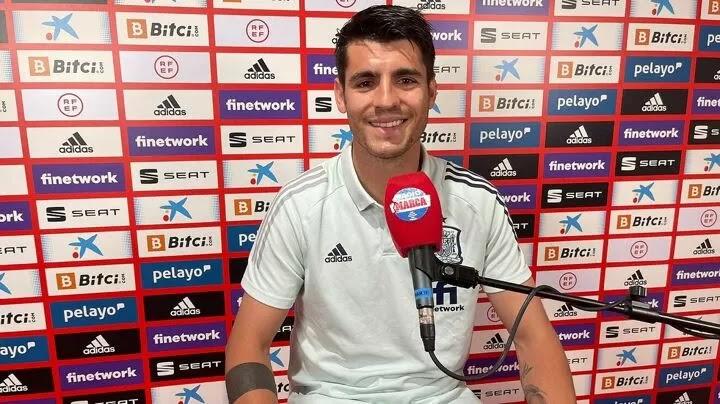 Morata: I don't know where I'll be next season, I'll be calmer once it's decided