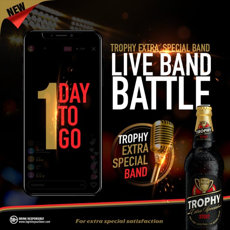 Top Six Emerge in International Breweries Plc's Trophy Stout Live Band ONLINE Battle #Arewapublisize