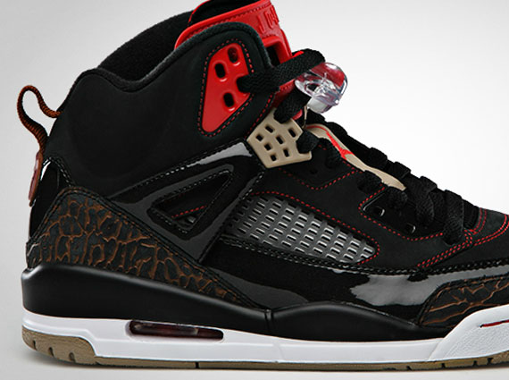 Air Jordan Spiz ike  Black Challenge Red   93b2ca2315