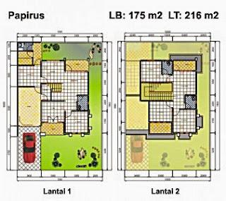 Gambar%2BContoh-Denah-Rumah-Luas-Bangunan-175-m2-337x300