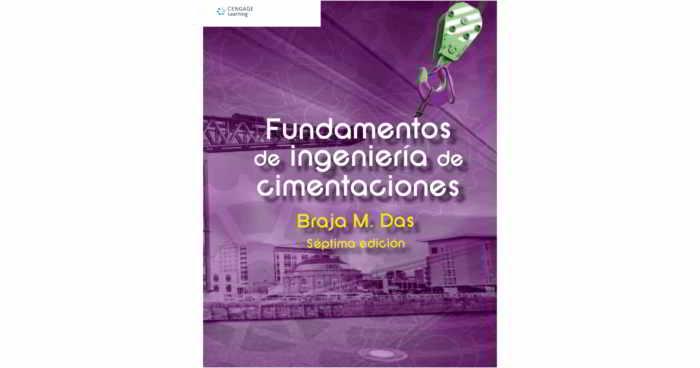 Fundamentos de Ingeniería de Cimentaciones - Braja M. Das