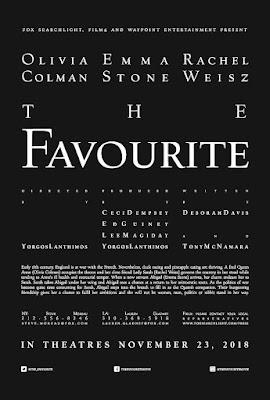 THE FAVOURITE  - Cartel pelicula