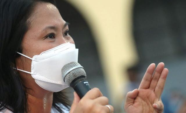Prisión preventiva para Keiko Fujimori