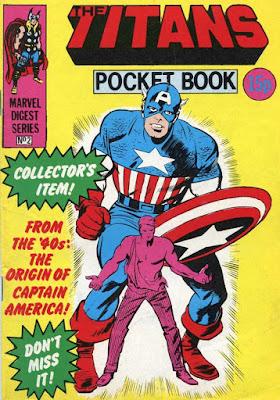 Titans pocket book #2, Captain America