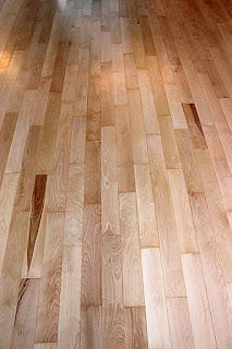 Maple Wood Floors Refinished With Water Base Polyurethane