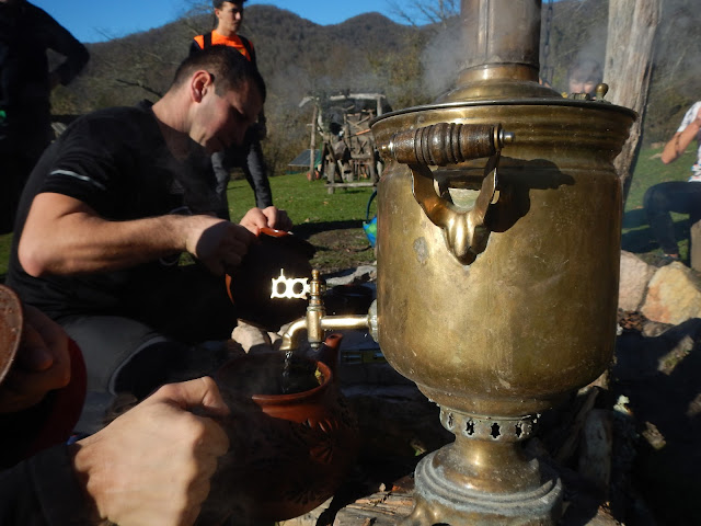 Сочинский чай на травах в экопоселении Ажек
