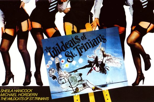 UK Poster for The Wildcats of St. Trinian's