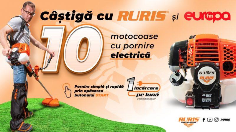 Concurs - Castiga o motocoasa cu pornire electrica de la RURIS - europa - fm - radio - castiga.net - premii