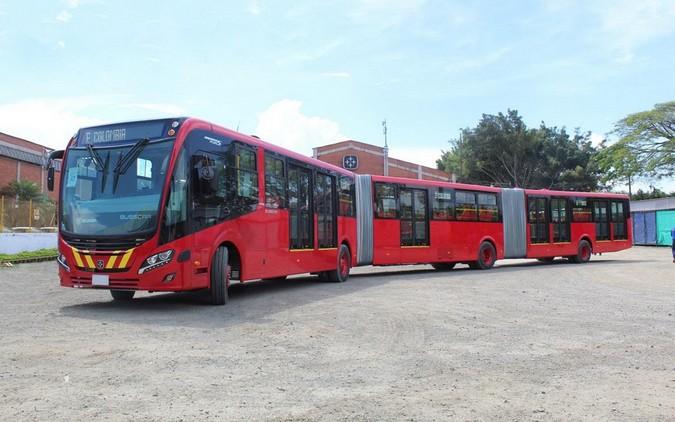 TransMilenio adquire 562 ônibus biarticulados Scania equipados com transmissões automáticas Allison
