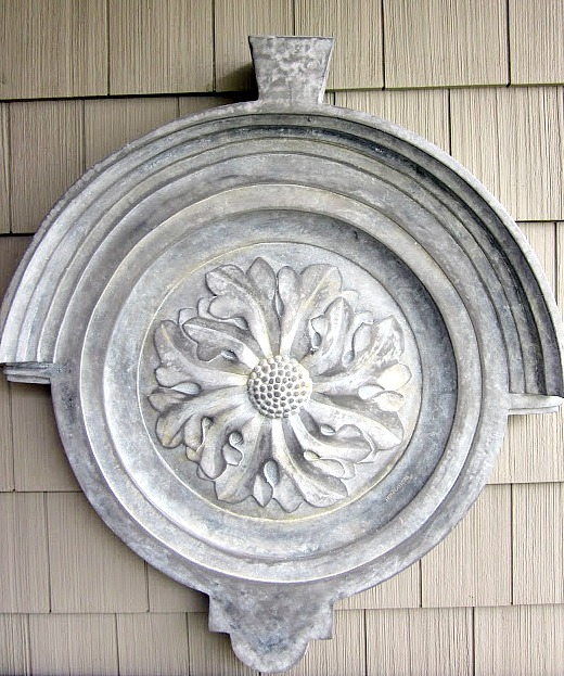 Architectural Outdoor Home Decor from the Thrift Store