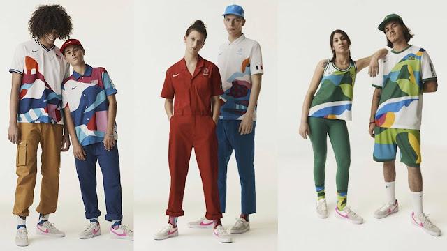 Uniformes Juego Olímpicos Tokio