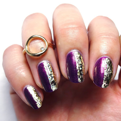 Plum-Thing Magical Nails