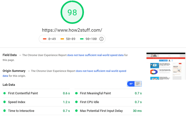 How To Optimize Blog High Pagespeed Insights