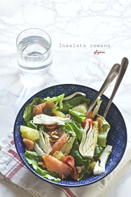 insalata romana sfiziosa