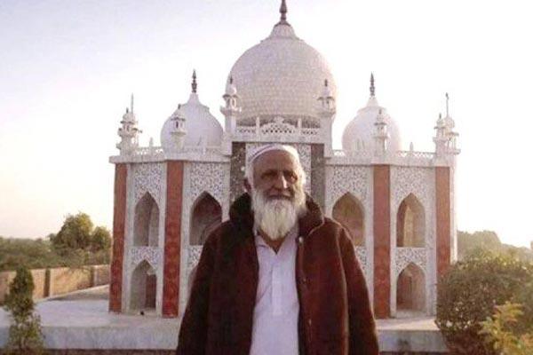 Taj Mahal is a sign of love