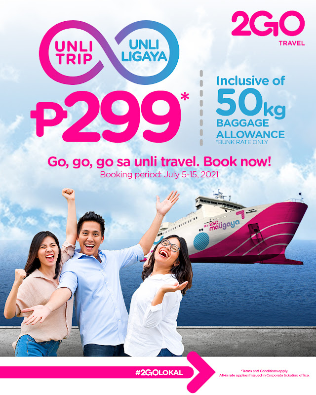 2Go Travel Promos and Discounted Rates