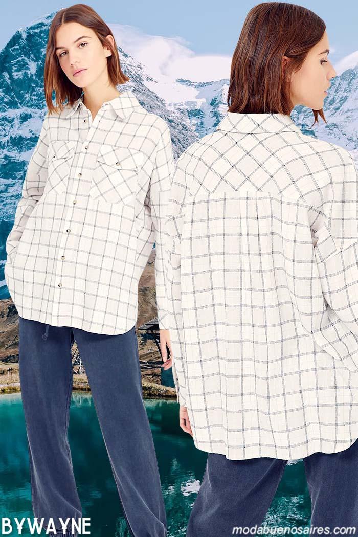 camisas invierno 2021 mujer