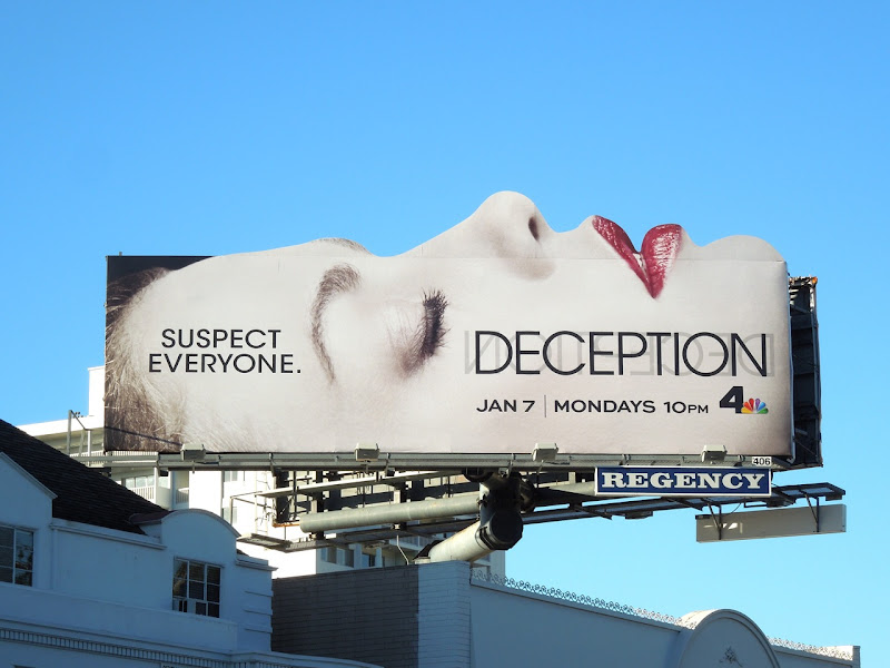 Deception face special extension billboard