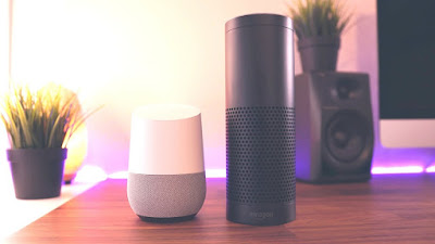 AI enabled Google assistant and amazon alexa