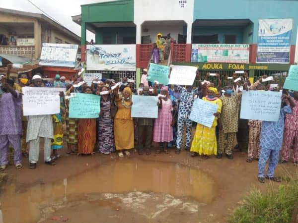 Heavy Protest in Ondo As APC Members Reject National Decision for Primaries