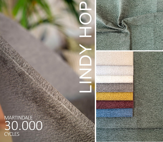 LINDY HOP, CHENILLE, JACQUARD - UPHOLSTERY - DRAPERY - DECORATION