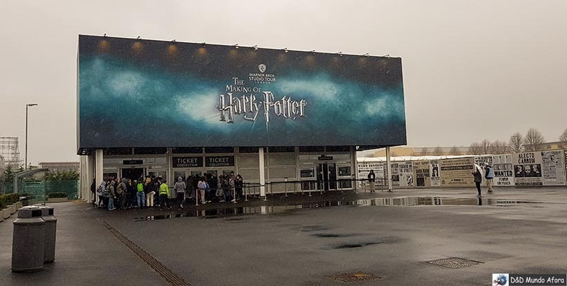 Harry Potter em Londres: tour no estúdio Warner Bros